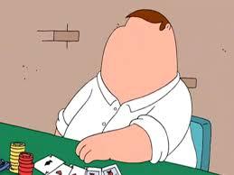 Pokerface Meme - peter should be the internet s poker face meme familyguy