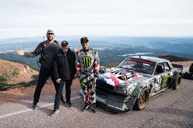 hoonigan mustang climbkhana ken block explains pikes peak assault in latest