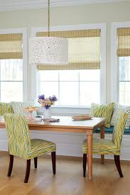 Window Seat In Dining Room - bar bench seat dining room beach style with window seat pendant