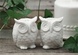 owl salt and pepper shakers the funky trunk