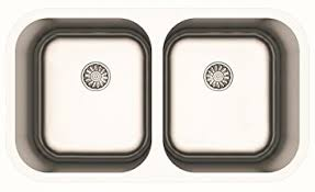 dual mount kitchen sink made in europe 32 inch stainless steel 50 50 double bowl dual mount