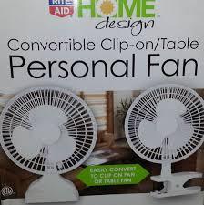 amazon com rite aid home design two speed personal fan white clip