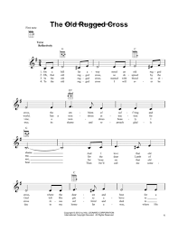 The Old Rugged Cross Made The Difference Sheet Music Download Digital Sheet Music Of The Old Rugged Cross For