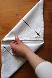 how to make fancy table napkins learn the fine art of napkin folding foodal