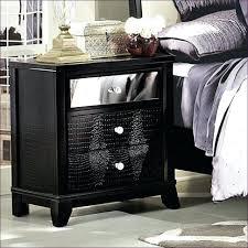 Mirror Credenza Bedroom Amazing Oak Nightstand Used Mirrored Furniture Small