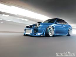subaru impreza modified blue 2003 subaru impreza wrx it u0027s a jersey thing modified magazine