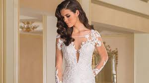10 long sleeved wedding dresses to try if you don u0027t want to bare