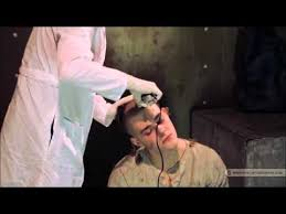 women haircutting in prison prison headshave youtube