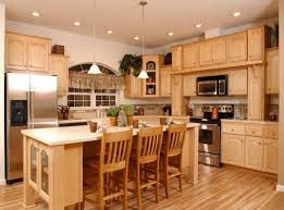 kitchen wall color ideas kitchen alluring this wall color with the maple cabinets