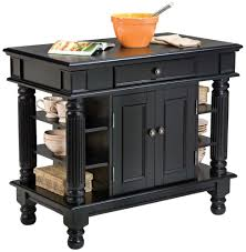 Kitchen Island Com by Amazon Com Home Styles 5092 94 Americana Kitchen Island Black