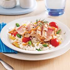 cuisine espadon salade de riz à l espadon grillé soupers de semaine recettes 5