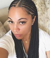 cornrows hairstyle with part in the middle 395 likes 33 comments renees33 on instagram got new braids