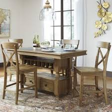 Industrial Kitchen  Dining Tables Youll Love Wayfair - Counter table kitchen