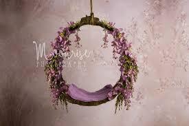 newborn photo props props of jupiter is on its way forrest floral hoop digital