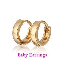 baby earings baby earring gold hoop earrings kids infant bijoux aretes bebe