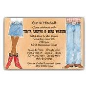 Cowboy Christmas Party Invitations - african american invitations paperstyle