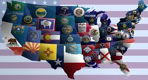 States In United States Map by United States Of America Flag Map By Jaysimons On Deviantart