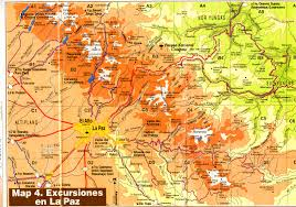 La Paz Mexico Map by Online Maps Central Bolivia Physical Map