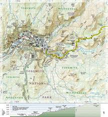 Yosemite Topo Map National Geographic Topo Map U2013 John Muir Trail California