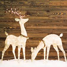simple ideas reindeer decorations shop outdoor at lowes