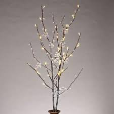 battery operated lighted branches gerson 37873 39 clear acrylic petal flower battery operated led