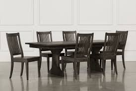 valencia 72 inch 7 piece dining set living spaces valencia 72 inch 7 piece dining set 360