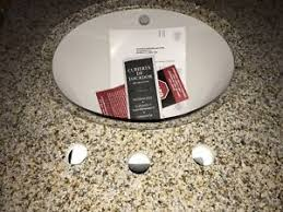 Granite Bathroom Countertops With Sink Granite Bathroom Countertop Home Improvement Ebay