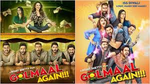 bollywood film the promise in pics golmaal again new posters promise double dose of magic