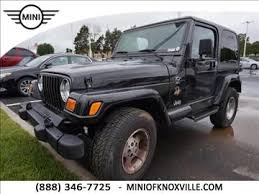 used jeep wrangler knoxville tn used jeep wrangler 8 000 in tennessee for sale used cars