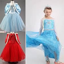 elsa halloween costume girls elsa dress for girls chinese goods catalog chinaprices net