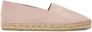 kenzo tiger cheap kenzo pink leather tiger espadrilles
