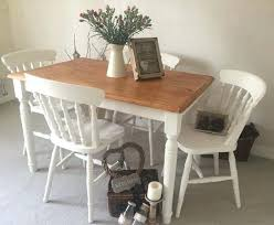 Shabby Chic Kitchen Furniture Shabby Chic Childrens Table And Chairs Farmhouse Chairs Shabby