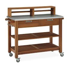 amazon com home styles bali hai potting bench shorea wood