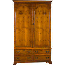 White Vintage Armoire Antique Armoires U0026 Wardrobes Ebay