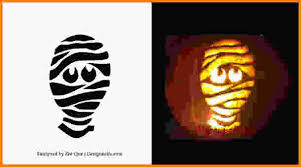 free printable pumpkin carving patterns free printable mummy scary