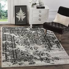 Area Rug Black Carpet Rug Black And White Area Rugs With White Cabinet And