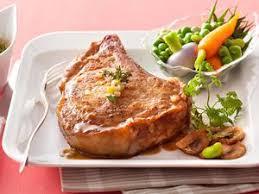cuisiner une cote de veau côtes de veau à la dijonnaise facile recette sur cuisine actuelle