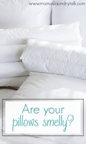 Duvet In Washing Machine Are Your Pillows Smelly Mama U0027s Laundry Talk