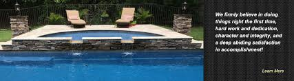 Deep Backyard Pool by Prestige Pools Of Wilmington Nc Fiberglass Swimming Pool