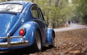 volkswagen beetle 2017 blue blue volkswagen beetle forest free stock photo negativespace