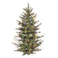 3 foot christmas tree with lights shop vickerman 3 ft pre lit artificial christmas tree with 100