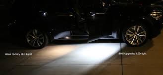 63316902911 led courtesy step footwell lights burgertuning