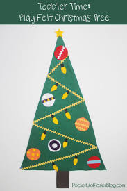 Homemade Christmas Gifts For Toddlers - felt christmas tree homemade christmas gifts the happy