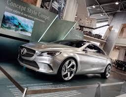 auto 4 porte mercedes esordio italiano per concept style coupe 4 porte
