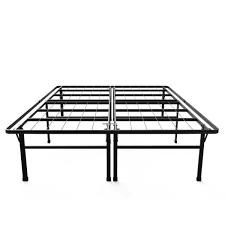 High Platform Beds Priage 18 Inch High Profile Smartbase Black Platform Bed Frame