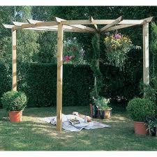 Swing Pergola Forest Garden Radial Pergola 90 Degrees For The Far Corner Under