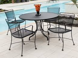 Patio Table And Chairs Set Decor Steel Patio Furniture Sets And Metal Furniture Metal Patio