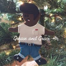 greaserbread gingerbread ornament grease and