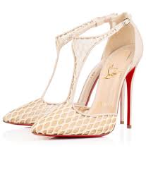 white mesh stilettos christian louboutin shoes u0026 boots