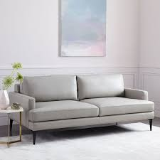 west elm andes sofa review the 8 best leather sofas to buy in 2018